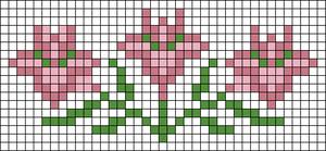 Alpha Friendship Bracelet Pattern #22155