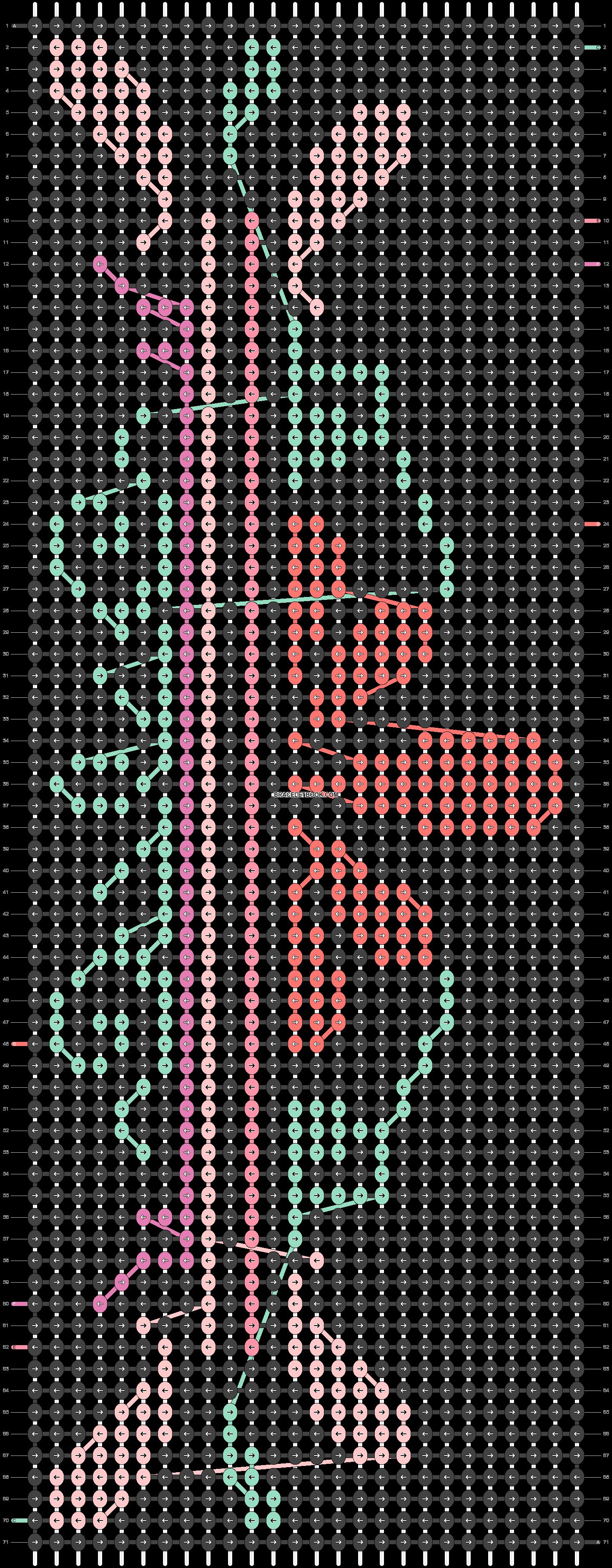 Alpha pattern #22156 pattern