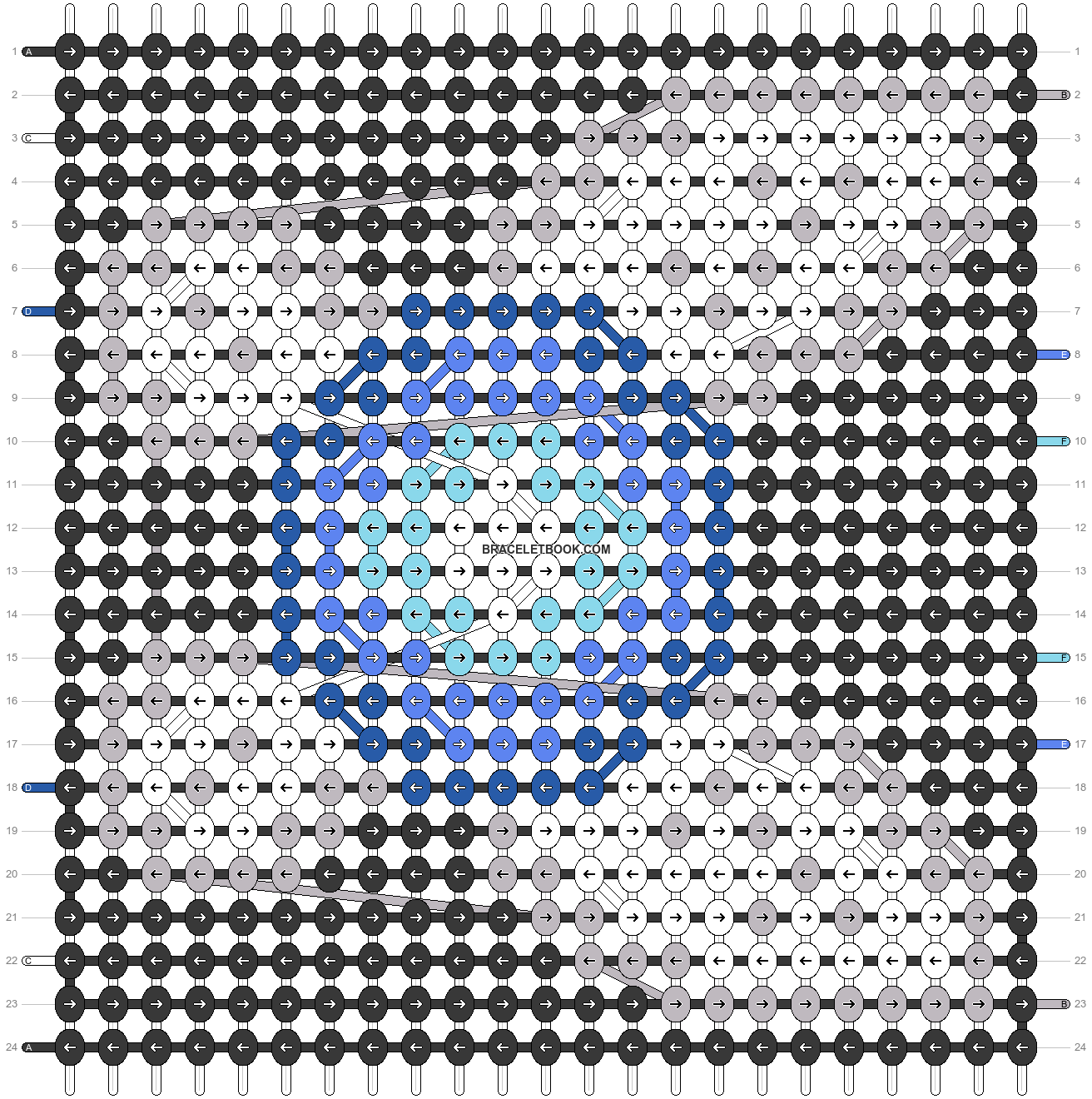 Alpha pattern #22159 pattern