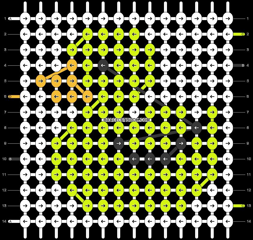 Alpha pattern #22160 pattern