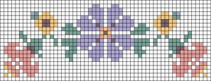 Alpha Friendship Bracelet Pattern #22163
