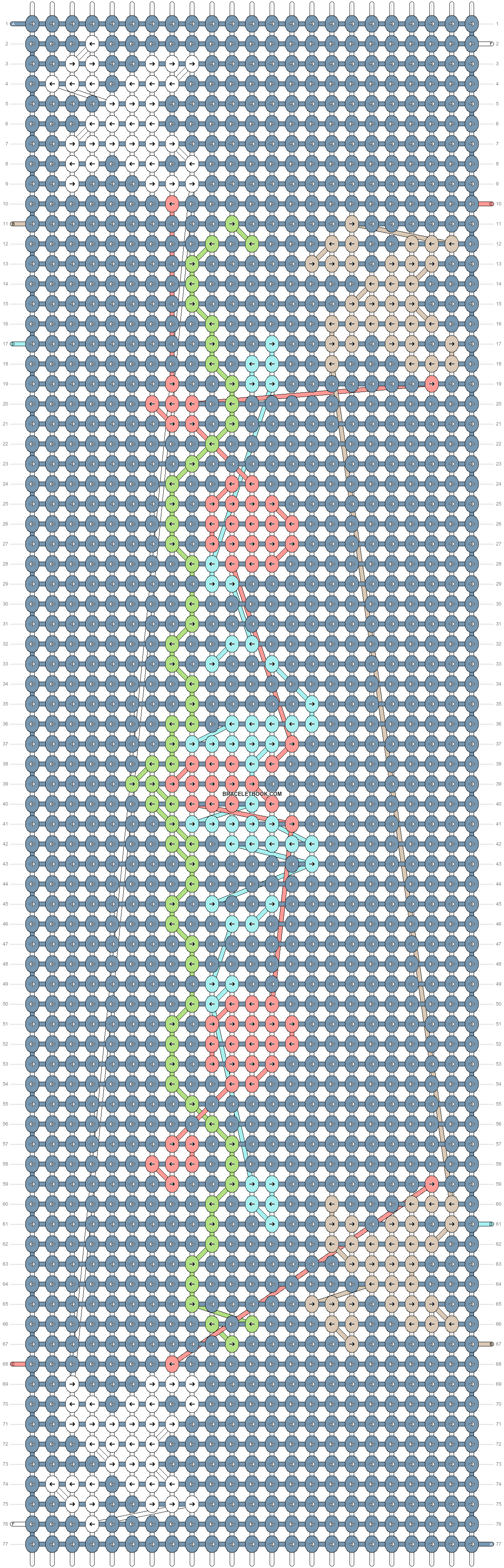 Alpha pattern #22164 pattern