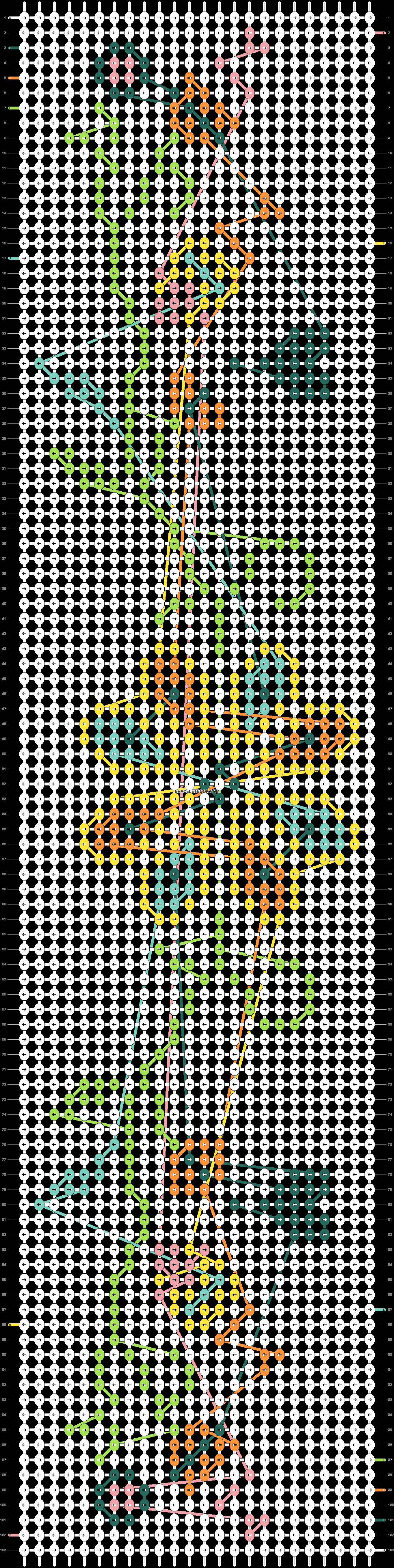Alpha pattern #22165 pattern