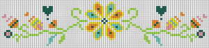 Alpha Friendship Bracelet Pattern #22165