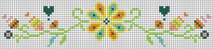 Alpha pattern #22165
