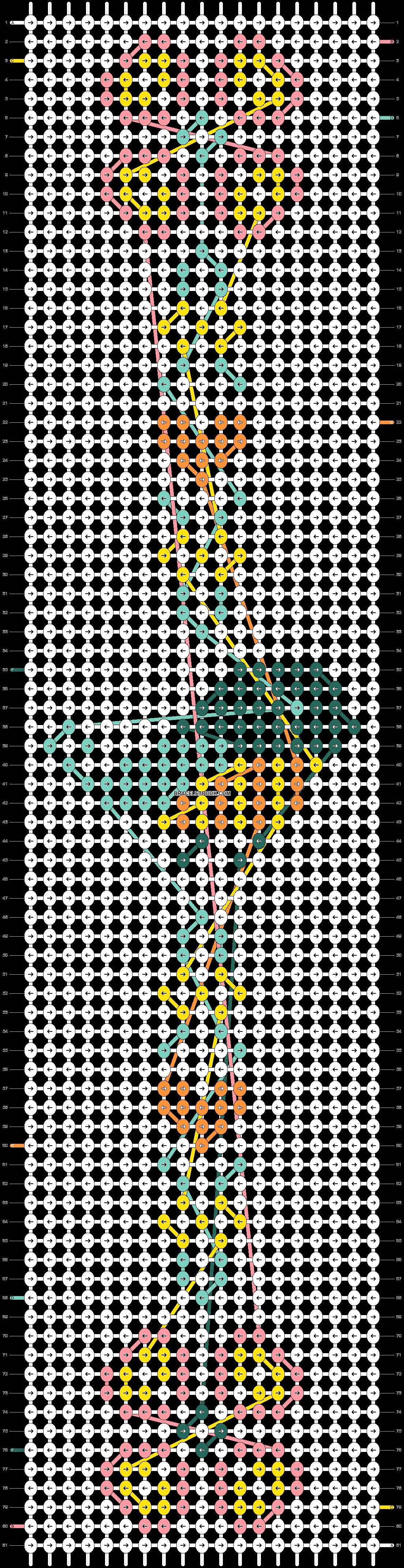Alpha pattern #22166 pattern