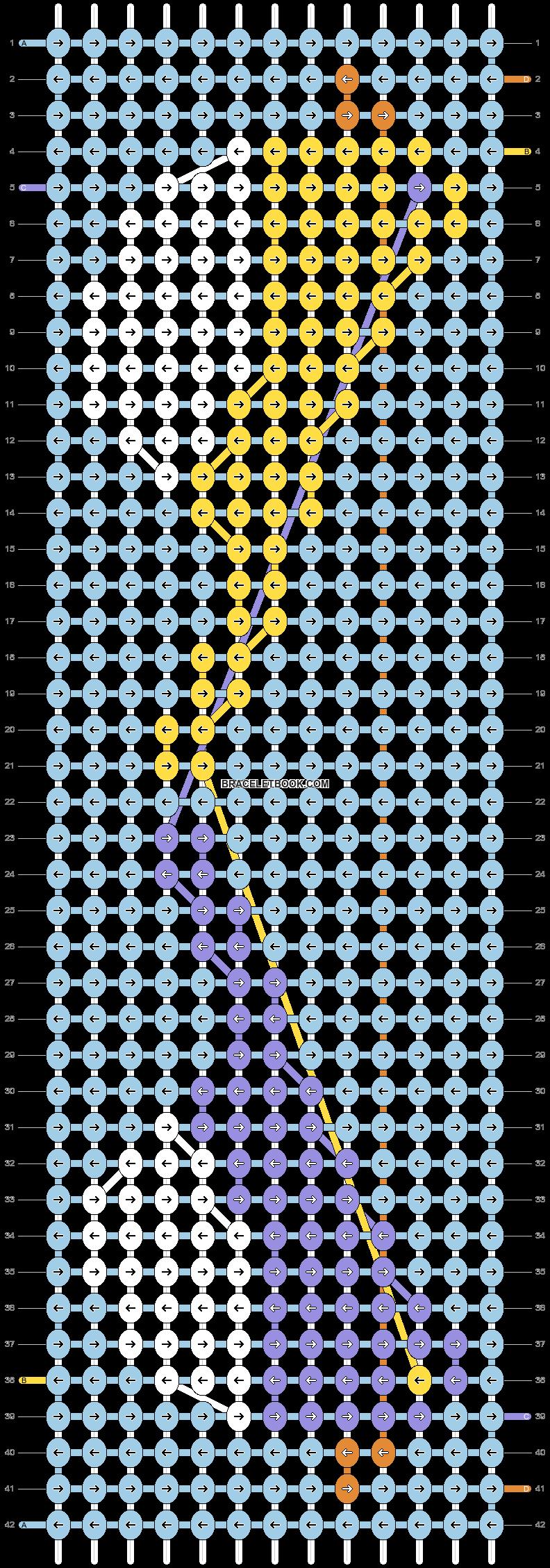 Alpha pattern #22167 pattern