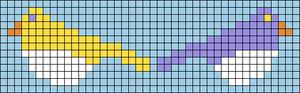 Alpha Friendship Bracelet Pattern #22167