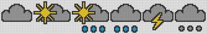 Alpha Friendship Bracelet Pattern #22168