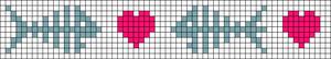 Alpha Friendship Bracelet Pattern #22170