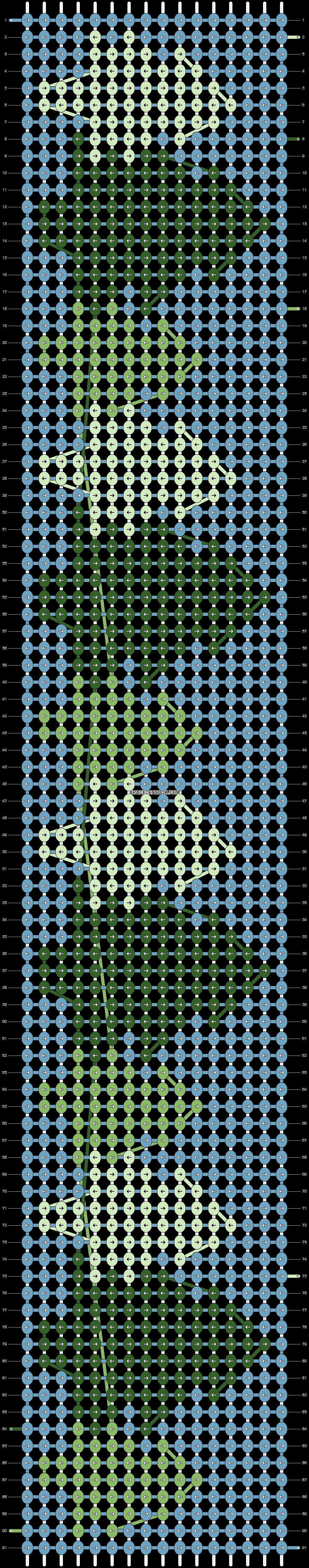 Alpha pattern #22171 pattern