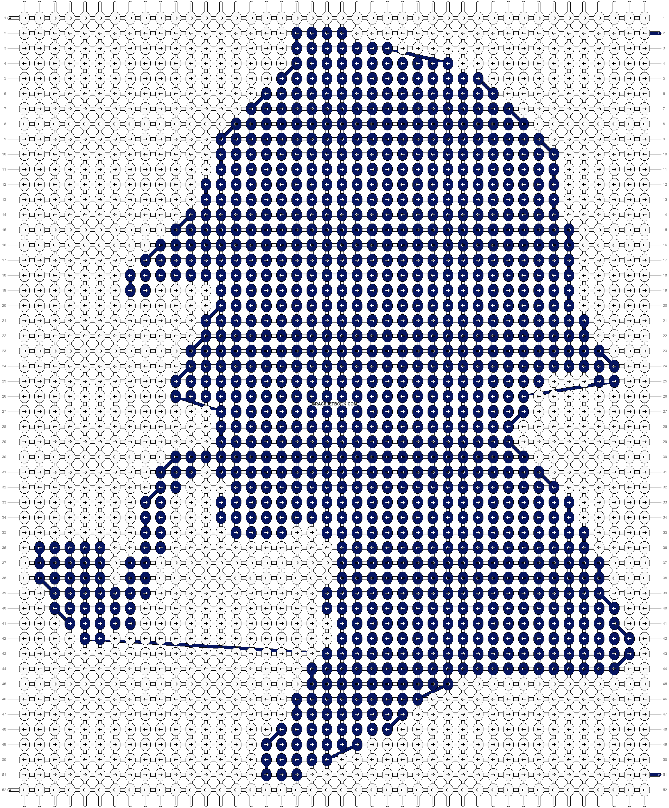 Alpha pattern #22178 pattern