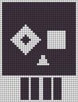 Alpha pattern #22180