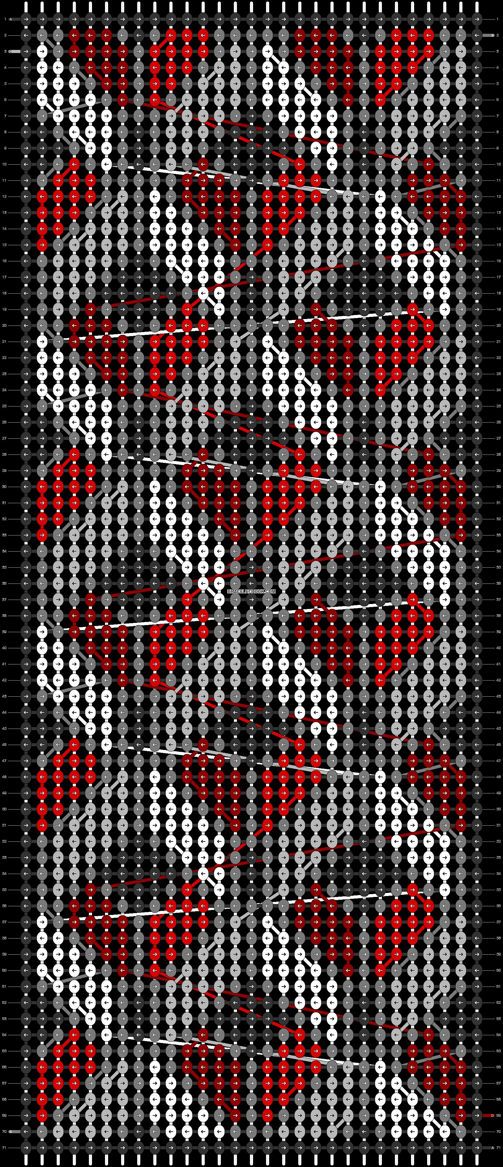 Alpha pattern #22201 pattern