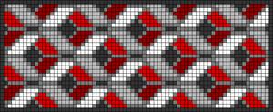 Alpha pattern #22201