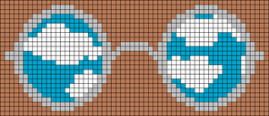 Alpha Friendship Bracelet Pattern #22202