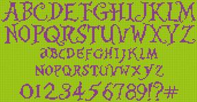 Alpha pattern #22203