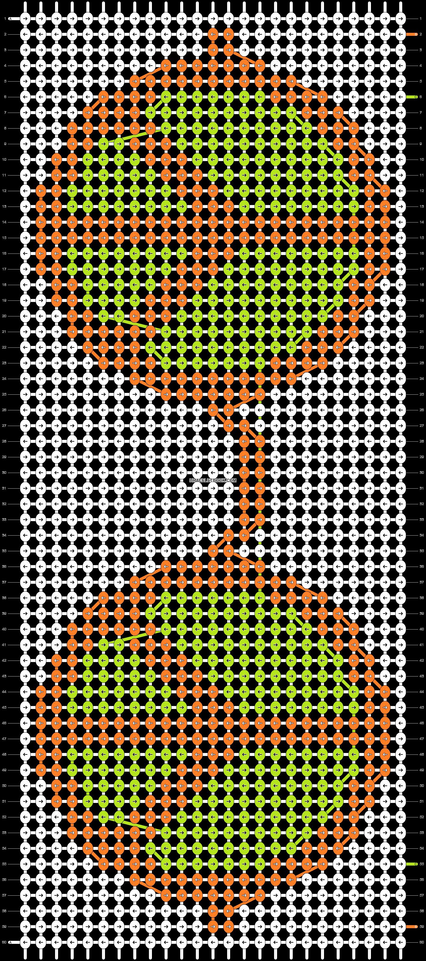 Alpha pattern #22205 pattern