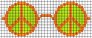 Alpha Friendship Bracelet Pattern #22205