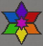 Alpha pattern #22206