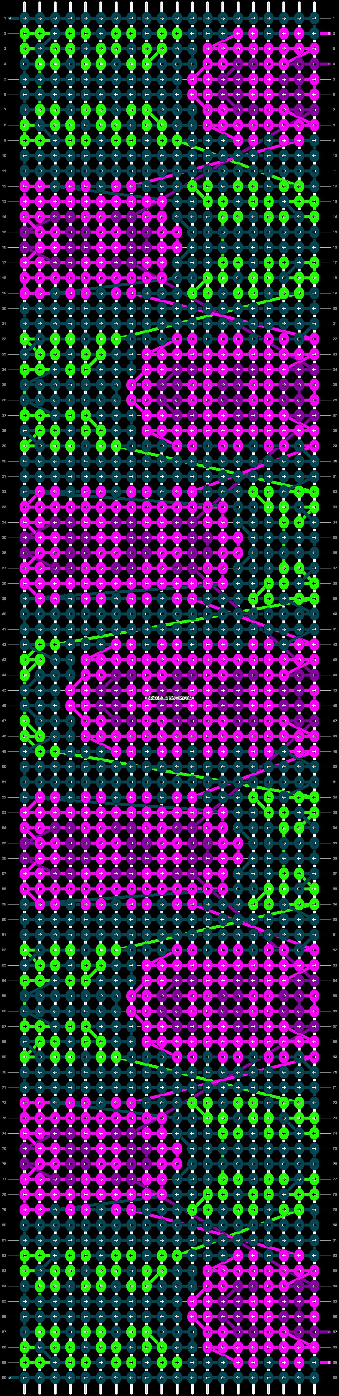 Alpha pattern #22207 pattern