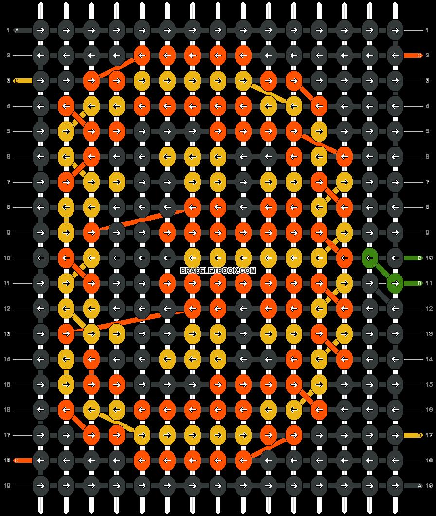 Alpha pattern #22215 pattern
