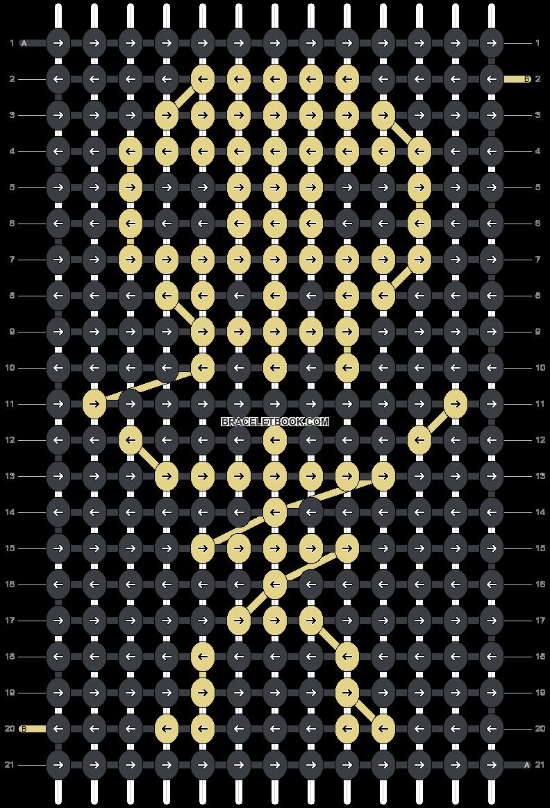 Alpha pattern #22217 pattern
