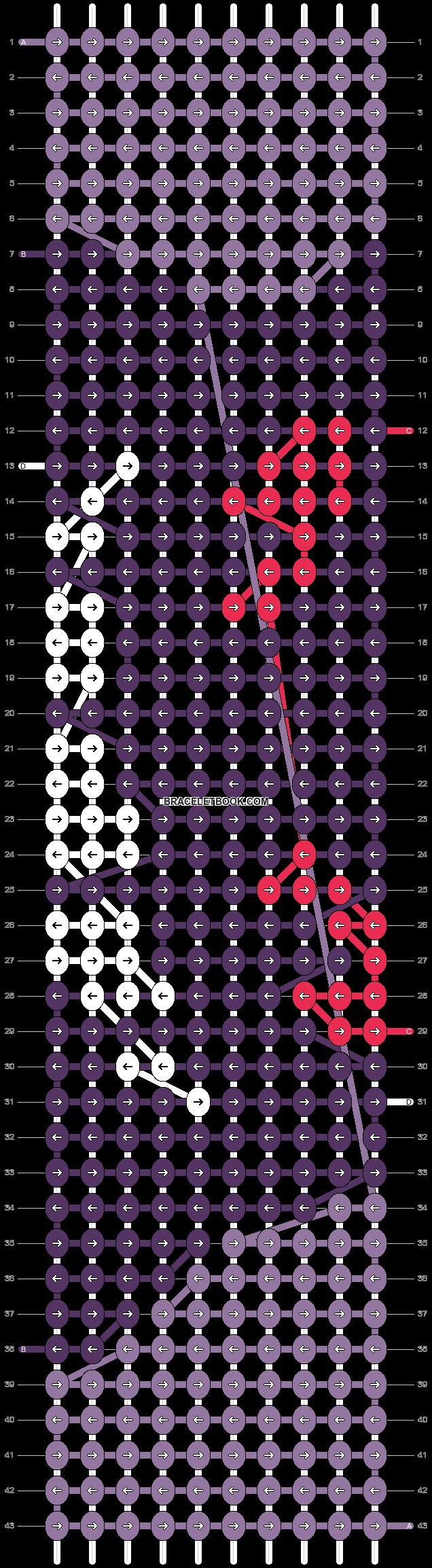 Alpha pattern #22244 pattern