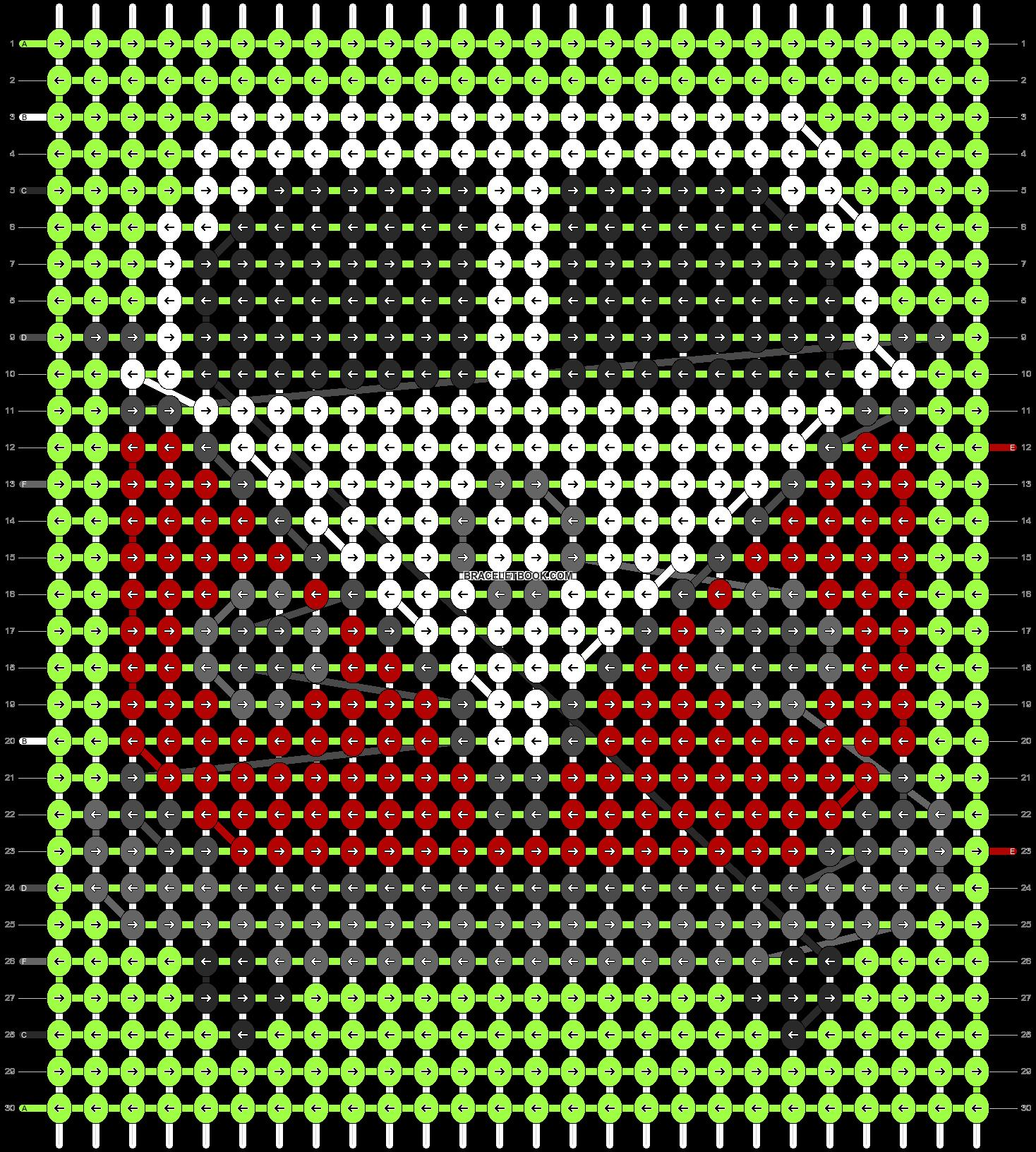 Alpha pattern #22273 pattern