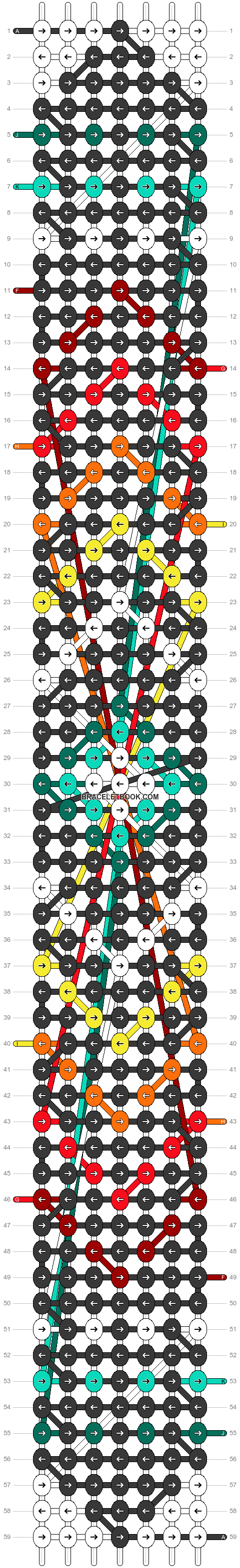 Alpha pattern #22278 pattern