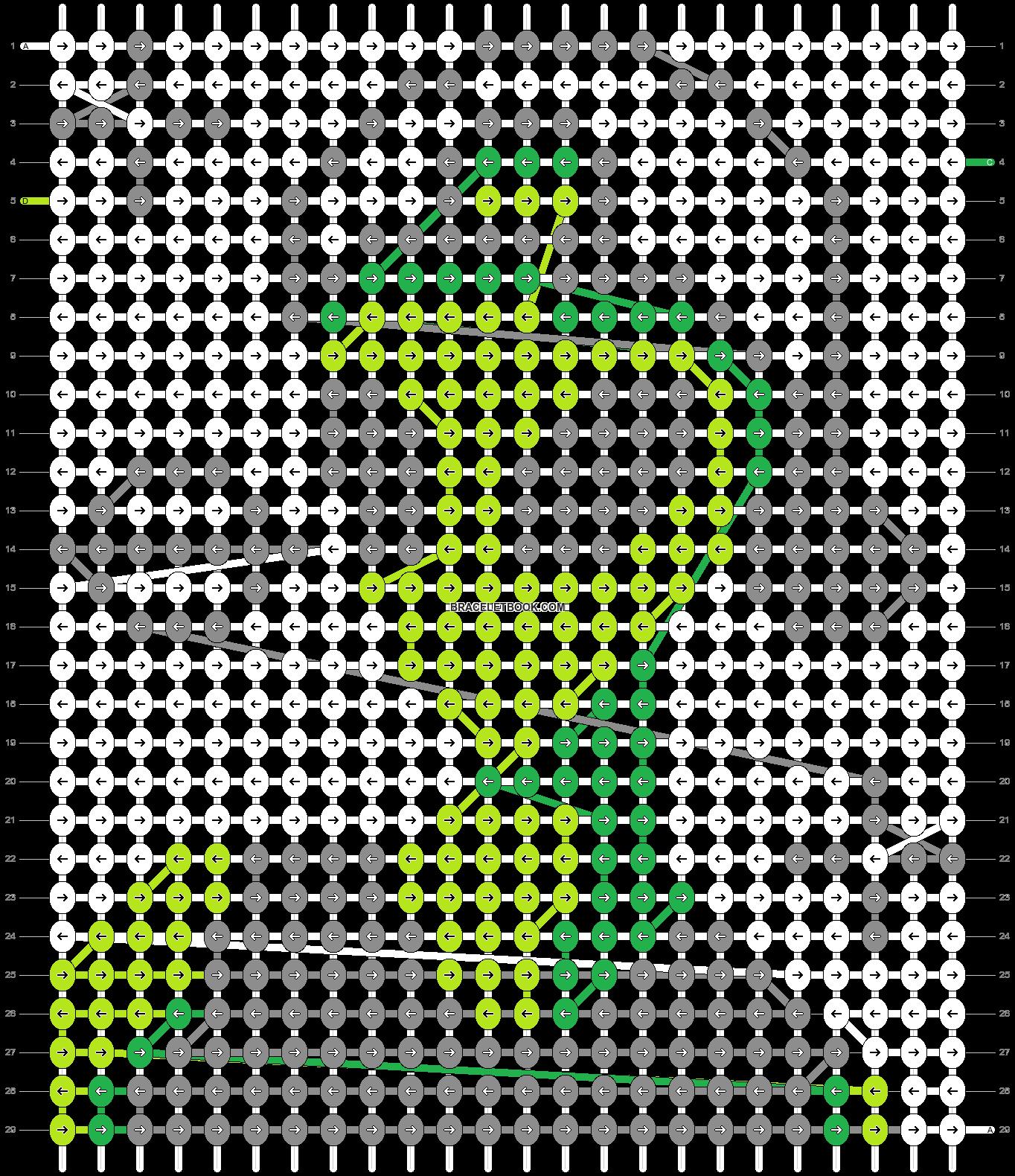 Alpha pattern #22279 pattern