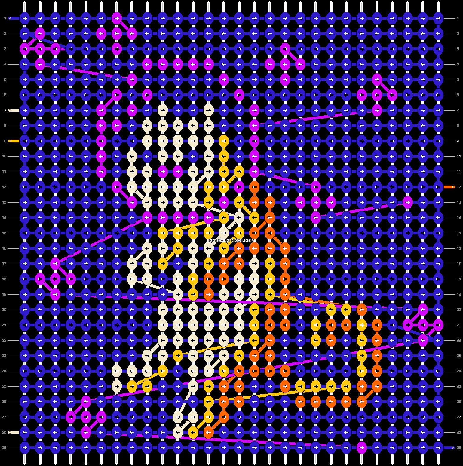 Alpha pattern #22282 pattern