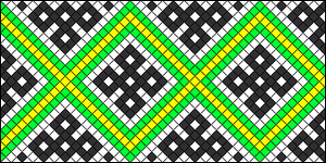 Normal Friendship Bracelet Pattern #22287