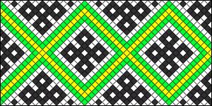 Normal Friendship Bracelet Pattern #22287