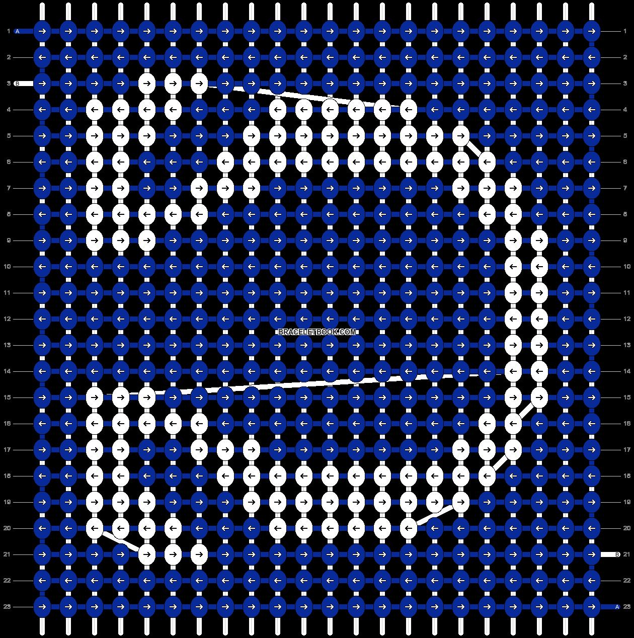 Alpha pattern #22303 pattern