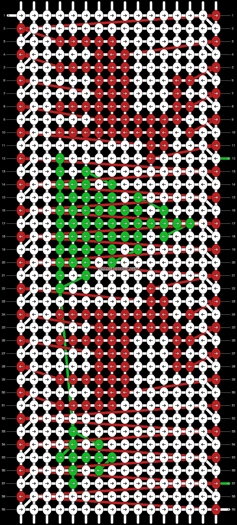 Alpha pattern #22304 pattern