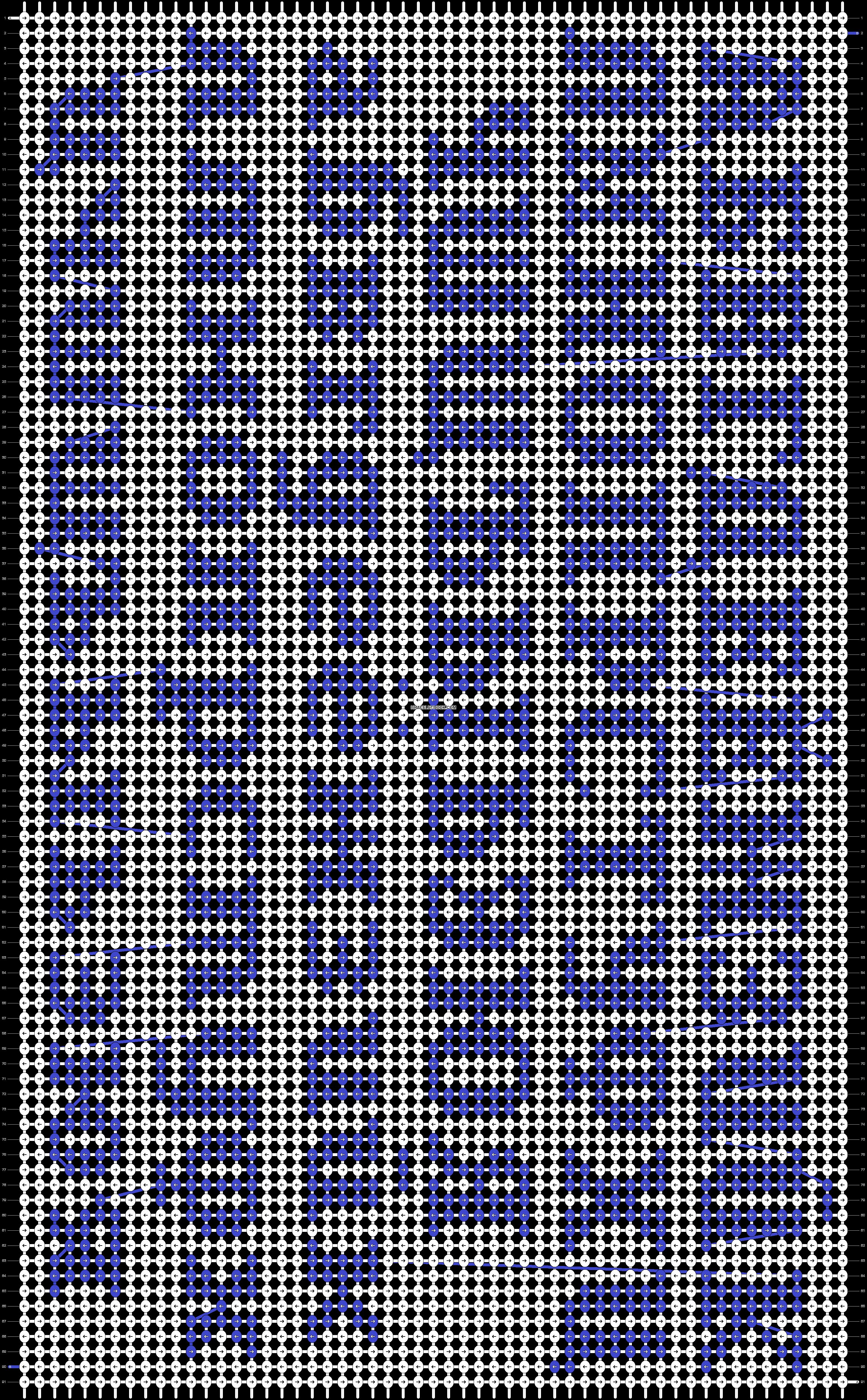 Alpha pattern #22312 pattern
