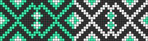 Alpha Friendship Bracelet Pattern #22324