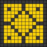Alpha Friendship Bracelet Pattern #22342