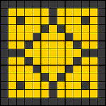 Alpha pattern #22342