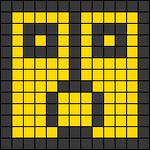 Alpha Friendship Bracelet Pattern #22343