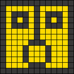 Alpha pattern #22343