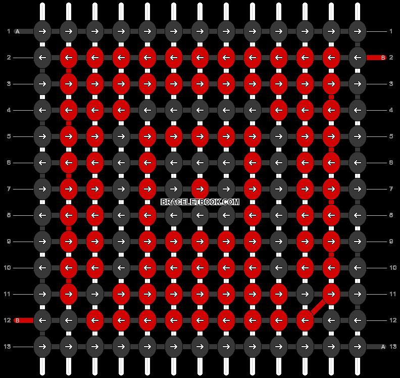 Alpha pattern #22344 pattern