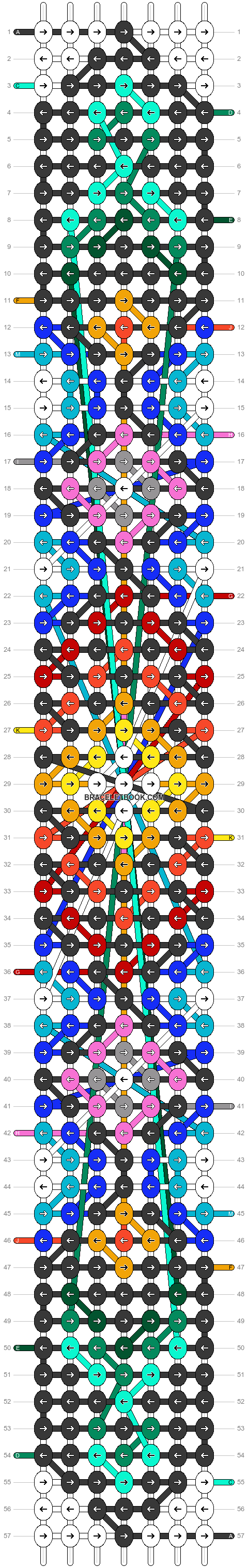 Alpha pattern #22360 pattern