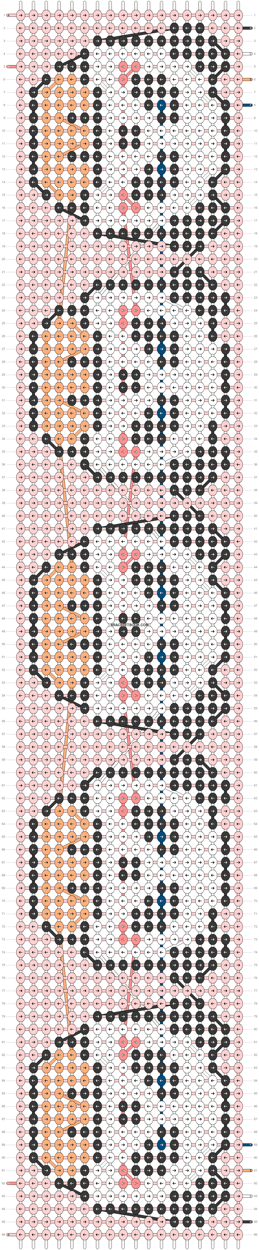Alpha pattern #22370 pattern