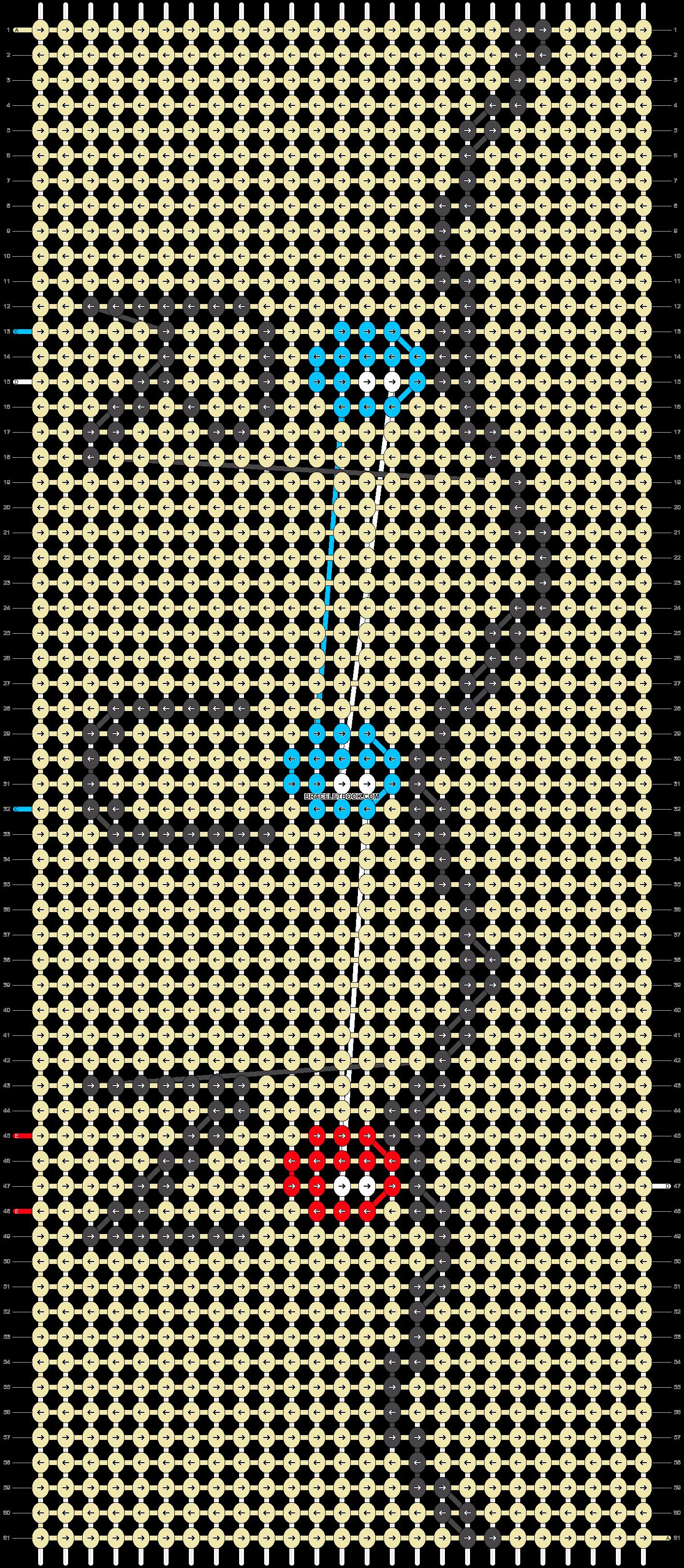 Alpha pattern #22383 pattern