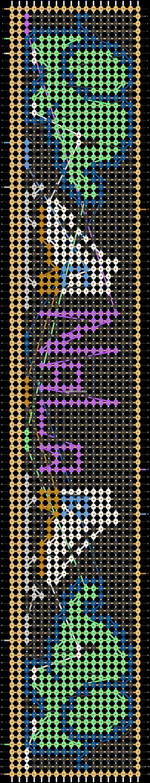 Alpha pattern #22386 pattern