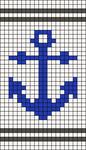Alpha pattern #22391
