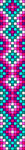 Alpha Friendship Bracelet Pattern #22400