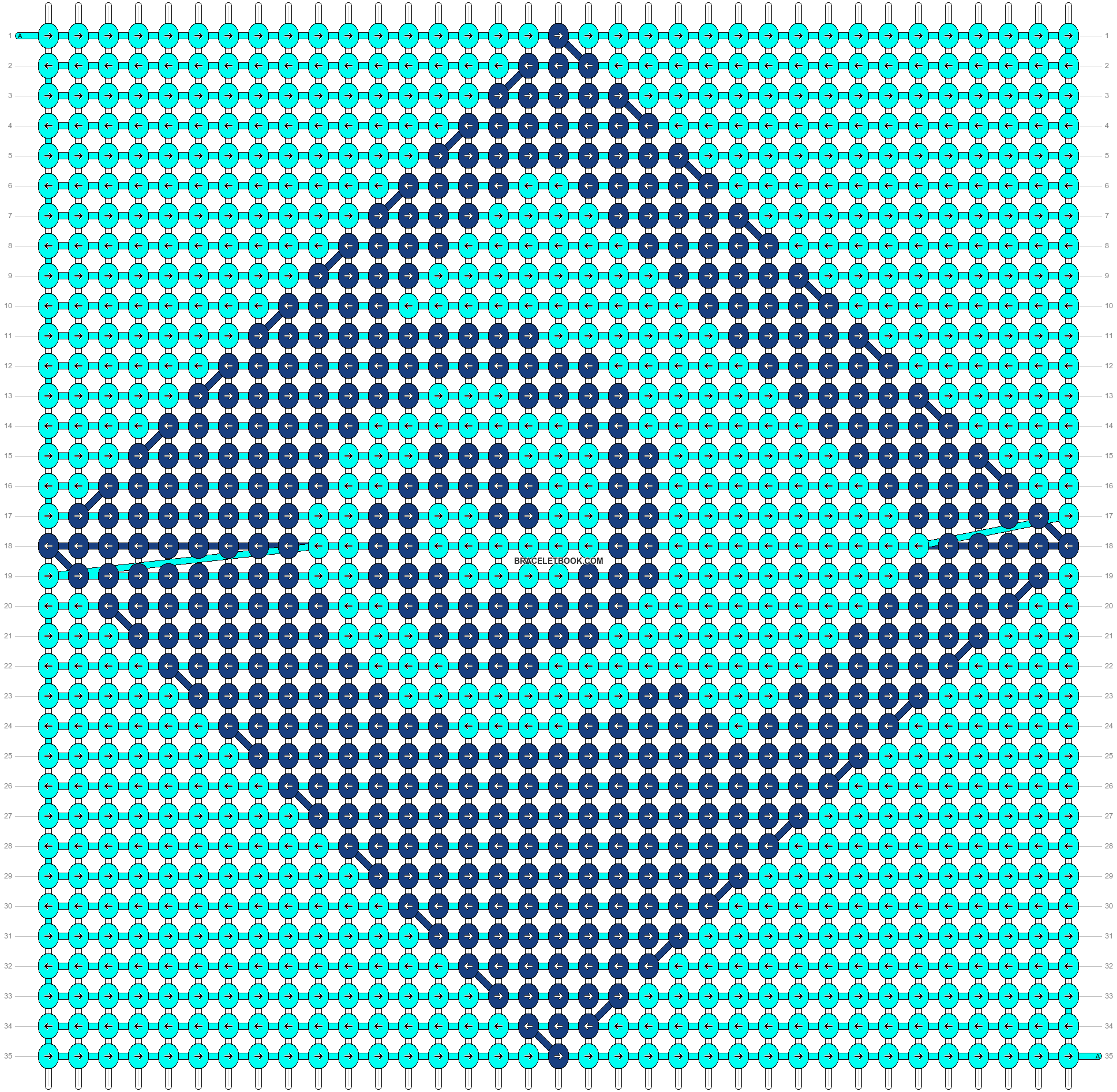 Alpha pattern #22404 pattern